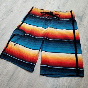 Mossimo Supply Co Striped Board Shorts. Perfect!